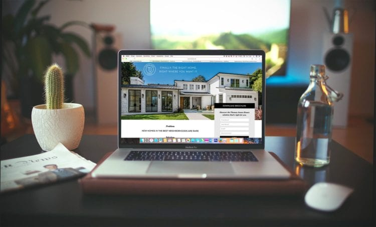 milesbrand real estate landing pages branding and marketing