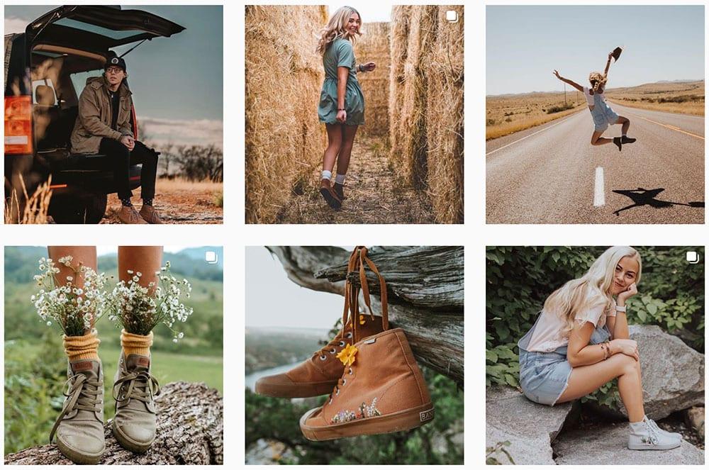 milesbrand branding and marketing bangs shoes